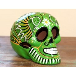 Mexican Skulls red