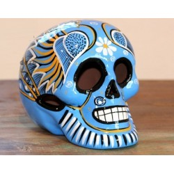 Mexican Skulls orange