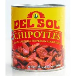 Piment Chipotle del Sol 2.8kg