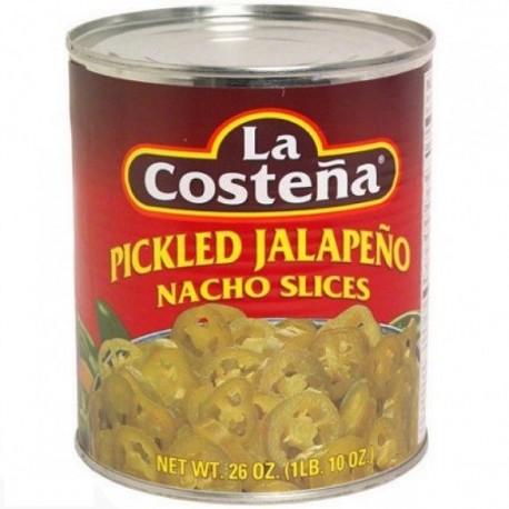 Jalapeño rondelles Costeña 2.8kg
