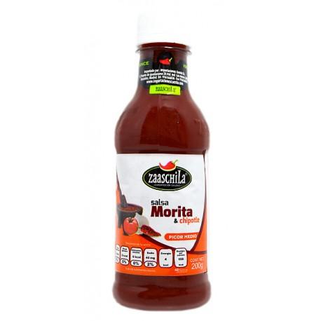 Sauce morita con chipotle 200g
