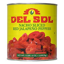 Red jalapeño nachos slices 2.8kg