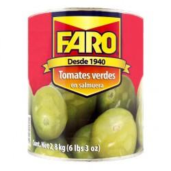 Tomates verdes Amigos 2.8kg