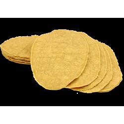 Tortillas maïs 14x22cm Flautas 20p