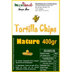 Chips de maïs Mexiland 400gr