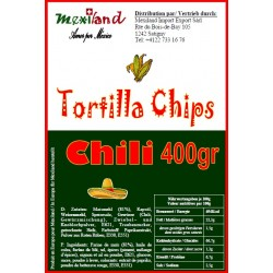 Chips de maïs Chili Mexiland 400gr