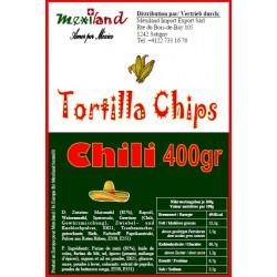 Cornchips Chili 400gr Mexiland
