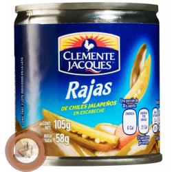 Jalapeño in slices 105gr