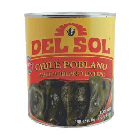Whole Poblano 2.8kg