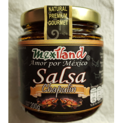 Grasshoper & Pepper salsa 200gr
