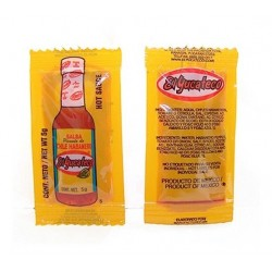 Salsa Habanero rojo 5ml