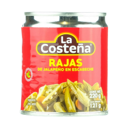 Jalapeño in slices 220gr
