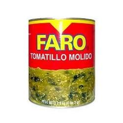 Green Tomatillo sauce Faro/2.9kg
