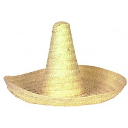 Straw Sombrero 60cm