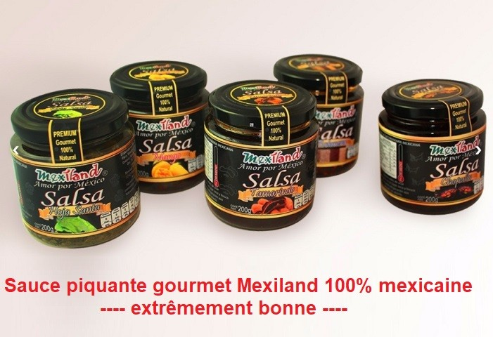 Sauce piquante mexiland