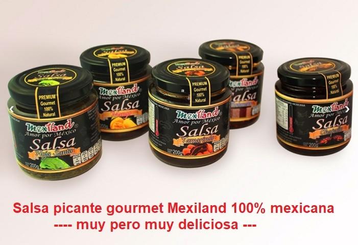 Salsa picante Mexiland